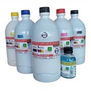 Tinta litro Premium Plotter Canon IPF Serie 500, 600, 700, que utilizam cartuchos cod. PFI102, PFI107 e PFI007