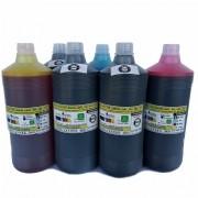 Tinta litro Premium UV Plotter Canon IPF Serie 500, 600, 700, que utilizam cartuchos cod. PFI102 e PFI107