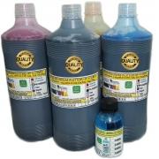 Tinta Premium Jg 4x250ml Plotter HP 4 cores exclusiva p/ Plotter HP 500, 510, 520, 800, 815, 820, 70, 100, 110, 111, 120 etc.