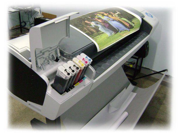 Kit Bulk 6 Cartuchões Recarregáveis 280ml com chip full Plotter Hp72 + 6 Ltrs tinta Premium compativel HP T610, T770, T750, T790,T1100, T1120, T1200, T1300, T2300