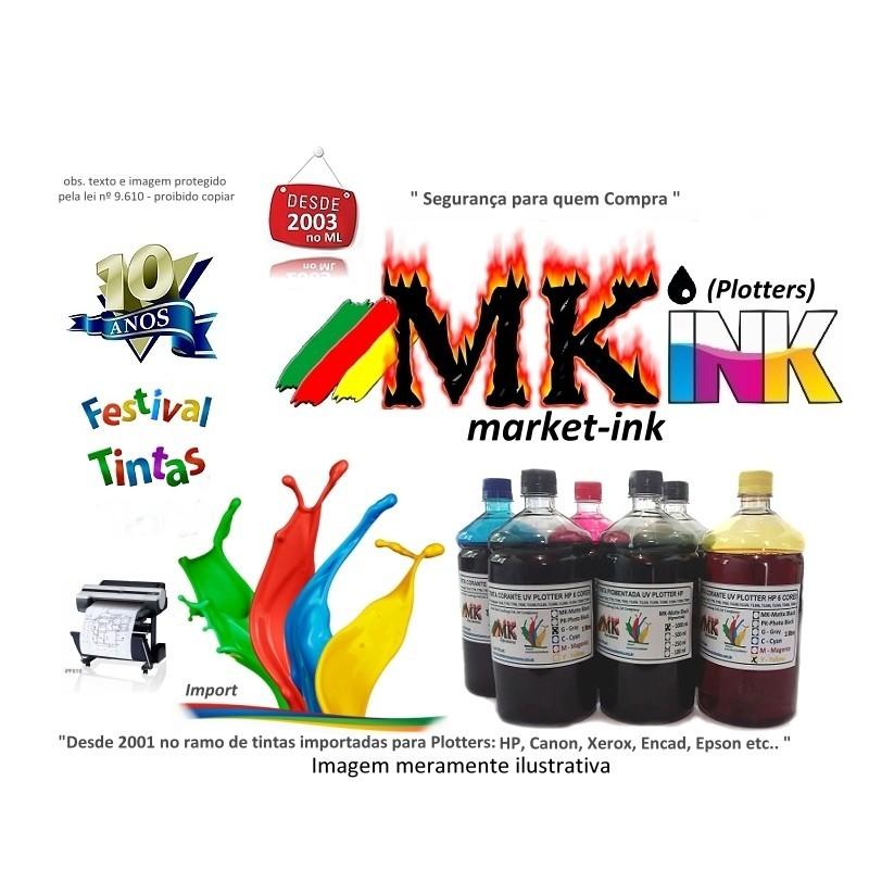 Jogo 4 litros Tinta GO Pigmentada UV Plotter Encad Novajet 600,700,800,7500, Kodak, Viagrafx. Veja Promoção Frete Grátis Região Sul