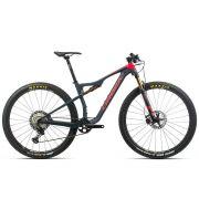Bicicleta Orbea MTB OIZ M-10 2020 tamanho M cor azul/vermelha