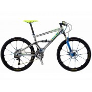 Bicicleta MTB GT ZASKAR CARBON 100 TEAM  tam.L cor CHROME