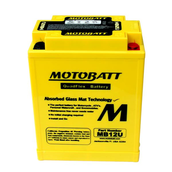Bateria VIRAGO 535 MOTOBATT  - T & T Soluções