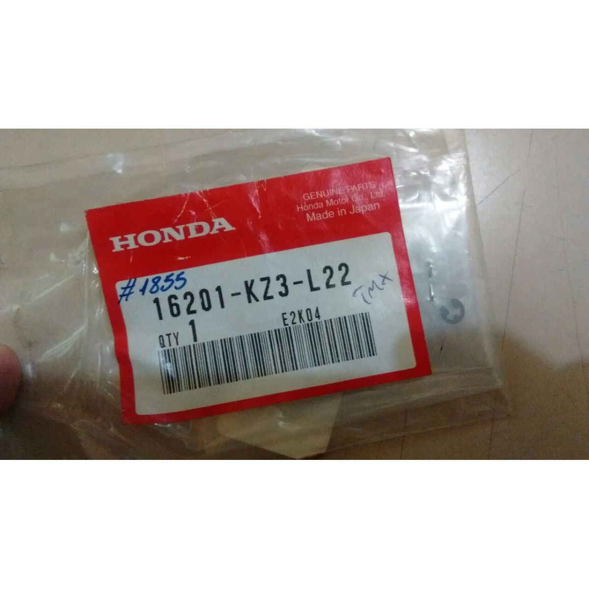 Agulha Pistonete TMX 16201-KZ3-L22 (6BEY30-71). CR250 2002  - T & T Soluções