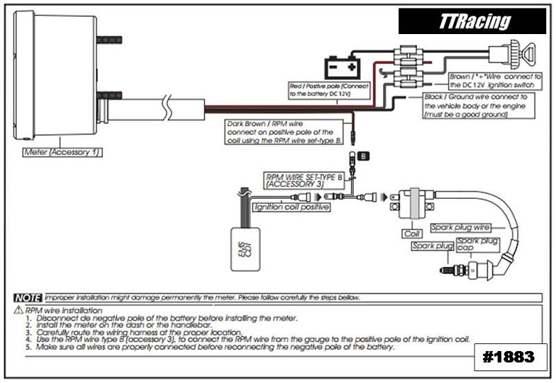 Contagiros Harley Davidson 0 - 8000 RPM  - T & T Soluções