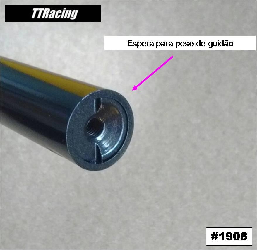 Guidão CB650F Preto Metálico  - T & T Soluções
