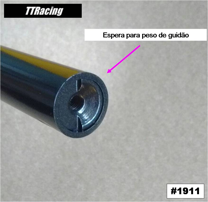 Guidão CB500X Preto Metálico  - T & T Soluções