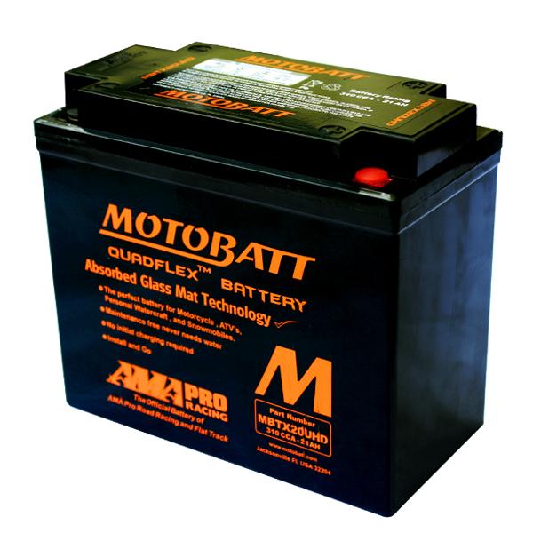 Bateria Motobatt MBTX20UHD Harley Davidson Softail  - T & T Soluções