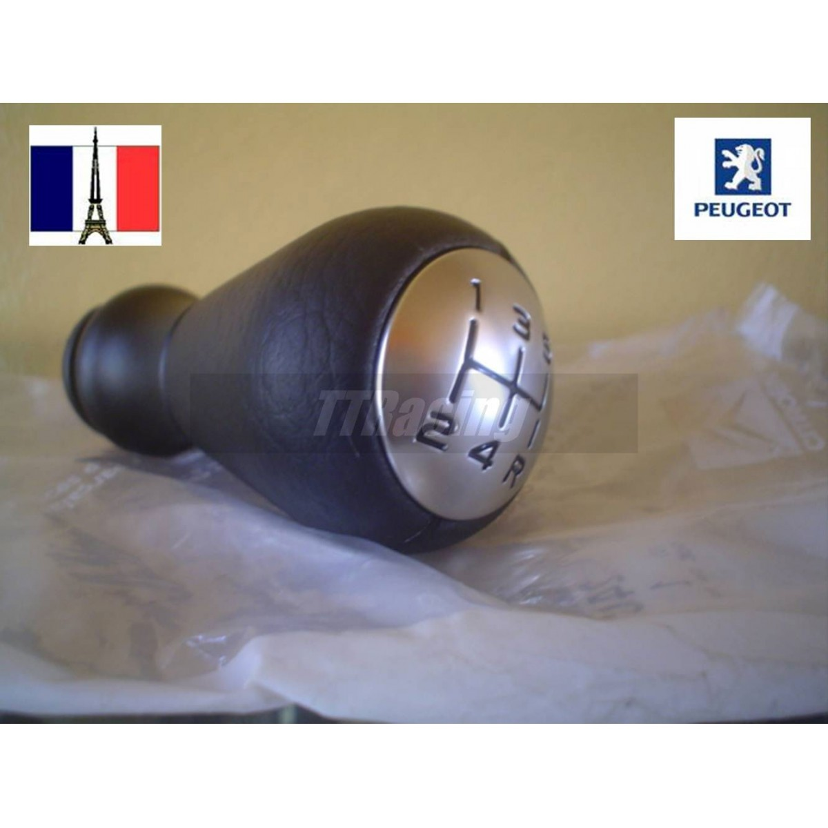 Manopla de câmbio Original Peugeot 206 306 307 207  - T & T Soluções