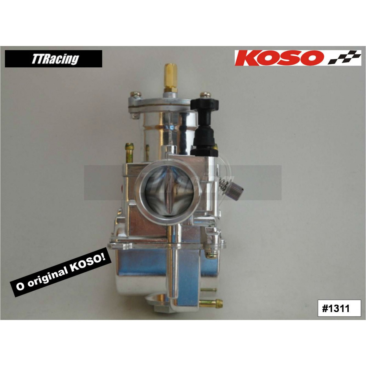 Carburador KOSO 28mm com Power Jet  - T & T Soluções