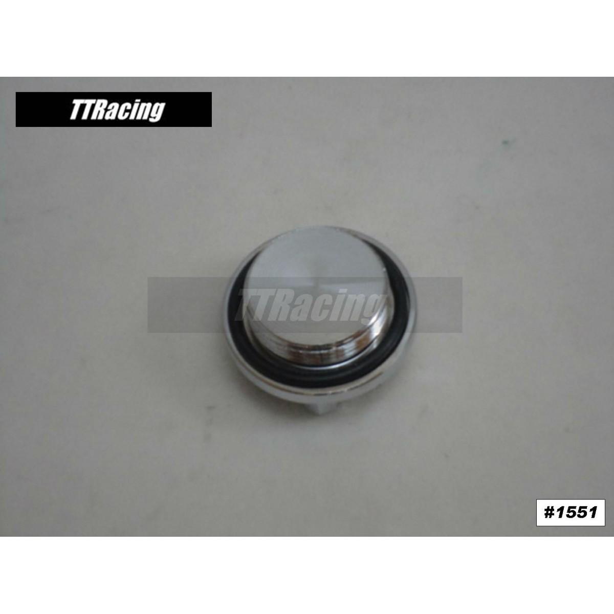 Tampa do óleo Kawasaki NINJA VULCAN cromado  - T & T Soluções