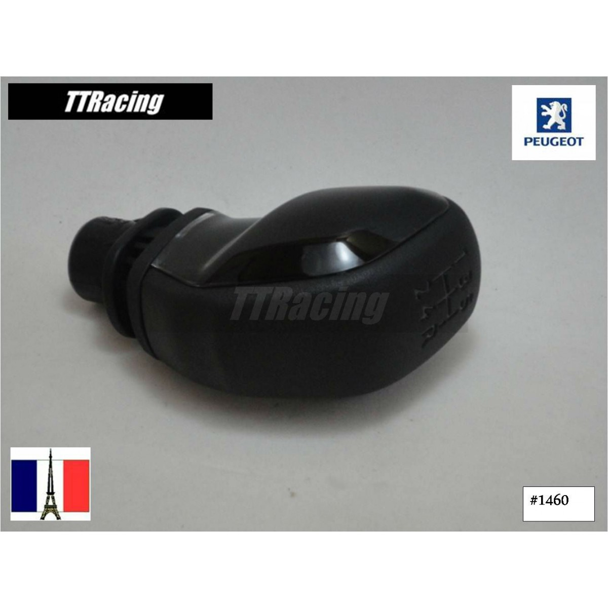 Manopla de câmbio PEUGEOT 208 ORIGINAL - Made in France  - T & T Soluções