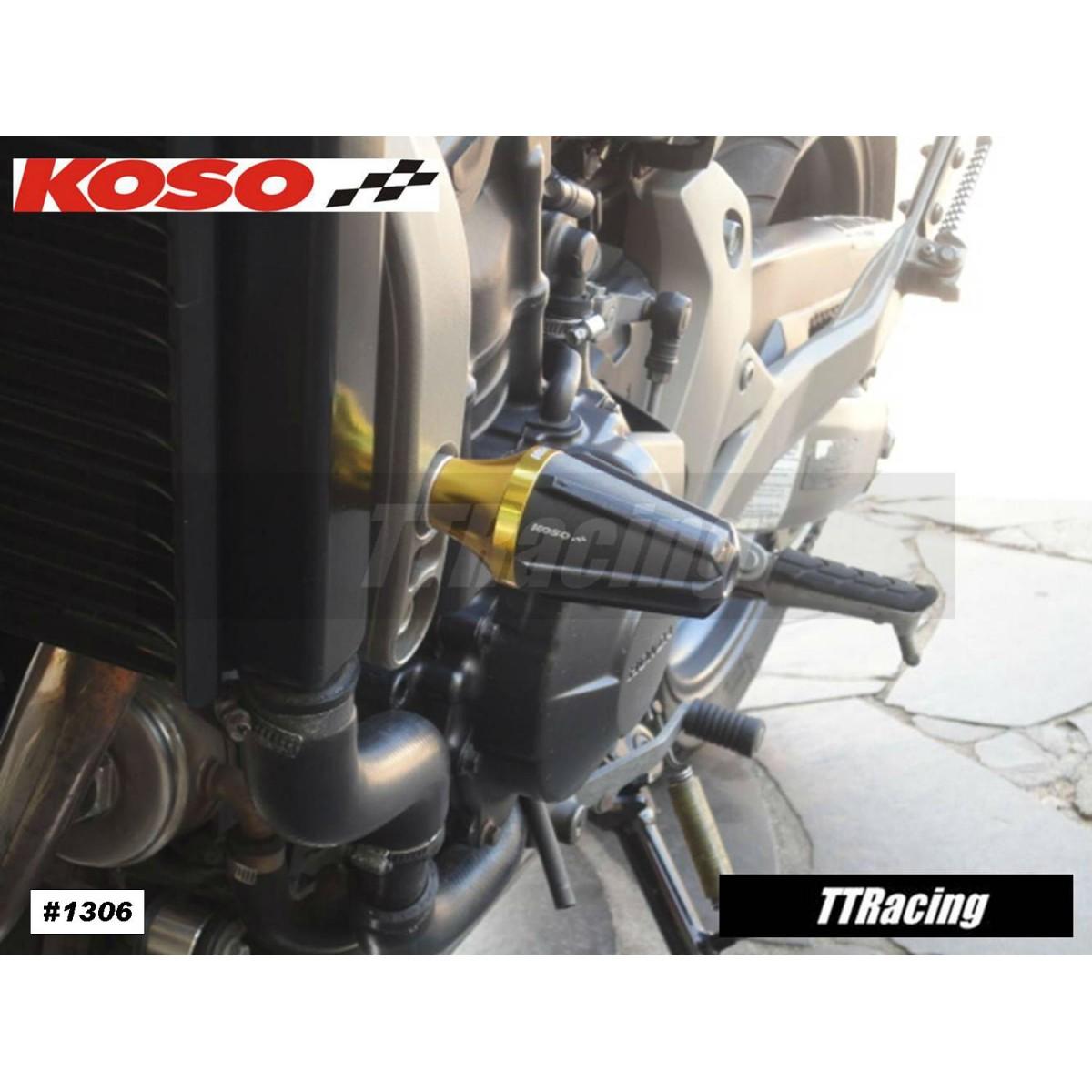 Slider KOSO Dourado Grande  - T & T Soluções