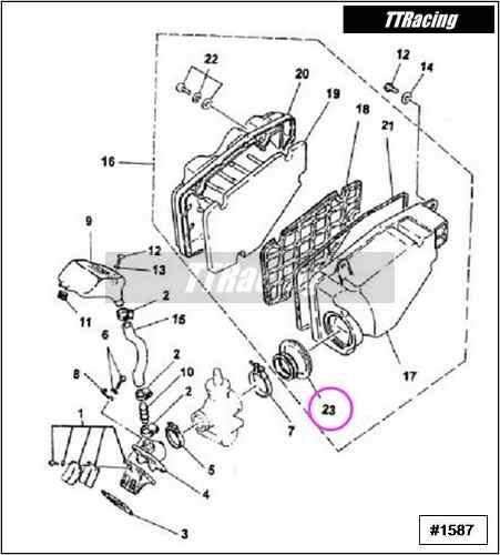 Condutor de ar RD135  - T & T Soluções