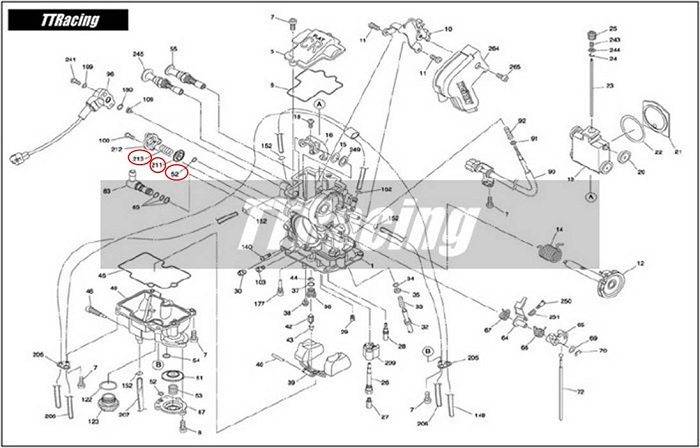 Reparo Carburador CR-FLAT MX  - T & T Soluções
