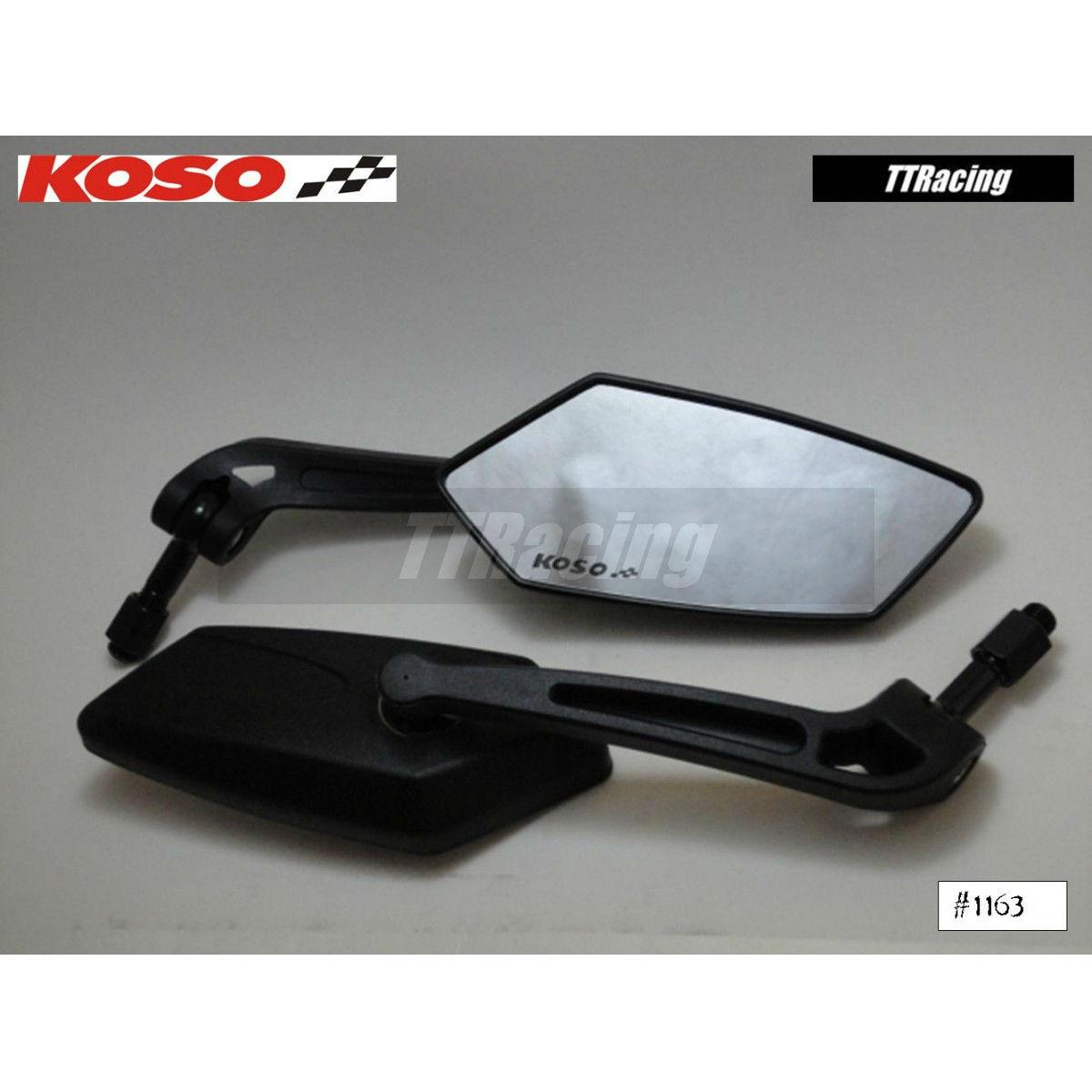 Espelho retrovisor KOSO modelo GT STYLE  - T & T Soluções