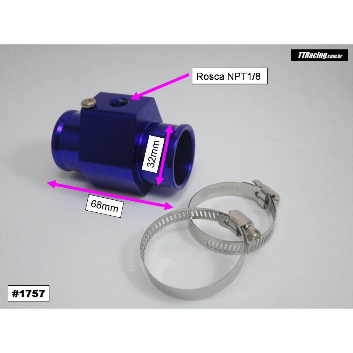 Adaptador Sensor Temperatura Água Radiador 32mm  - T & T Soluções