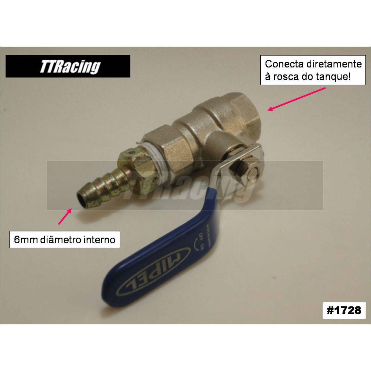 Registro de combustível torneira RX180  - T & T Soluções