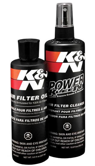 KIT LIMPEZA K&N  - T & T Soluções