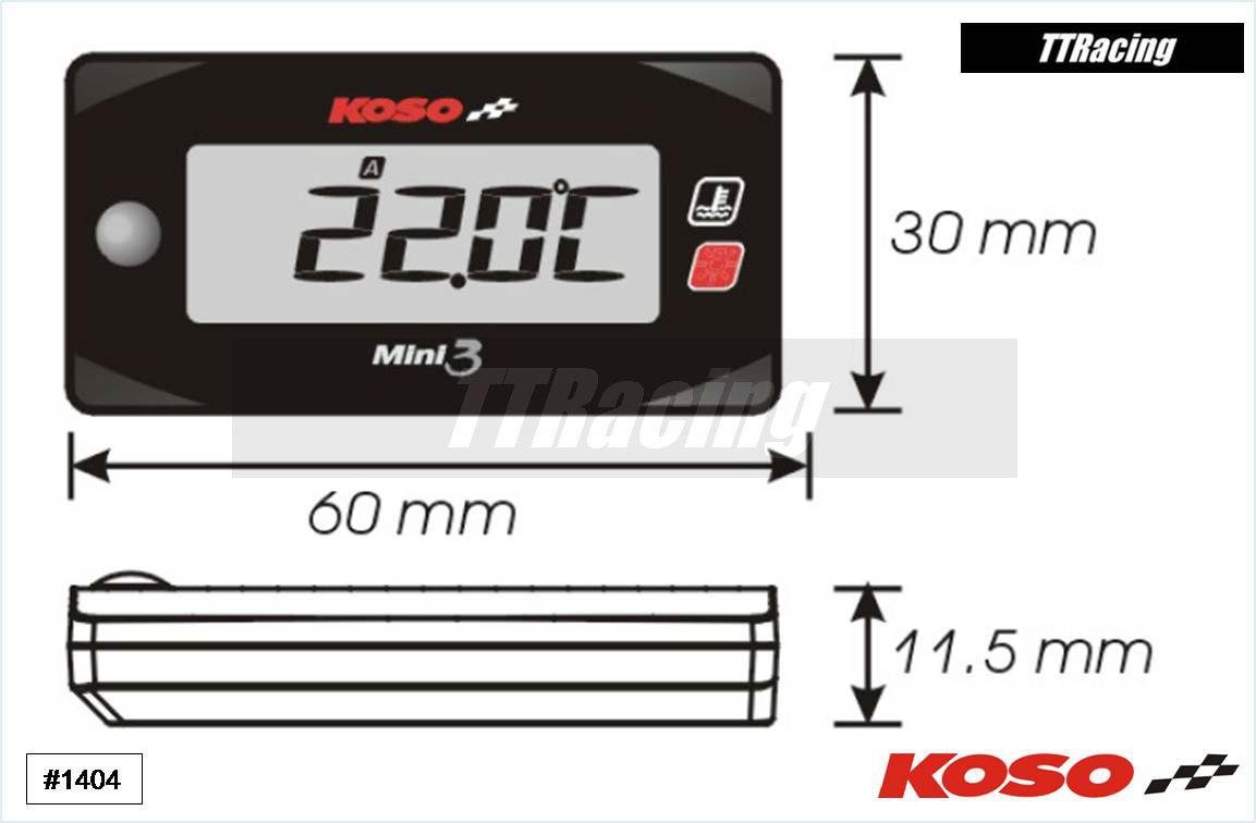 Medidor de temperatura duplo  - T & T Soluções