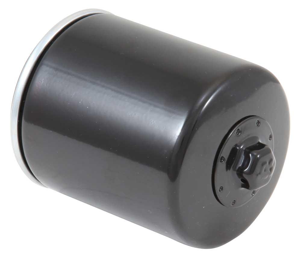 Filtro de óleo K&N KN-170 HARLEY DAVIDSON SPORTSTER 883 1200 PRETO  - T & T Soluções