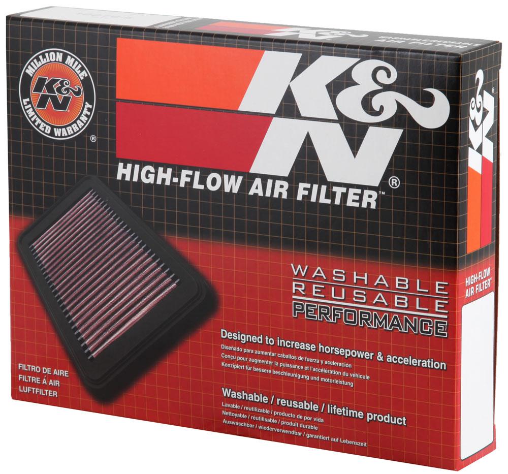 Filtro de ar K&N BANDIT 1200 2007 2008  - T & T Soluções