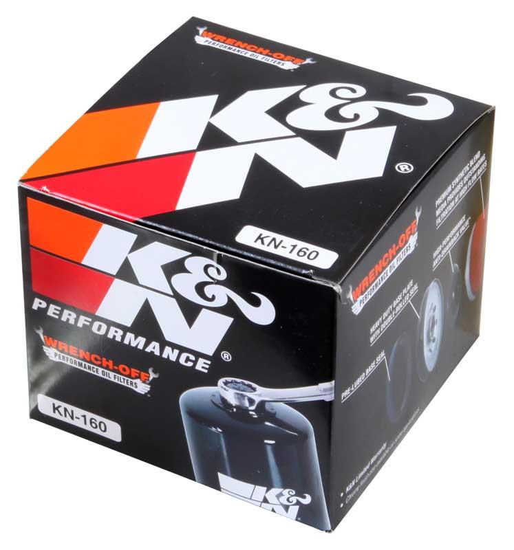 Filtro de óleo K&N KN-160 BMW S1000RR  - T & T Soluções