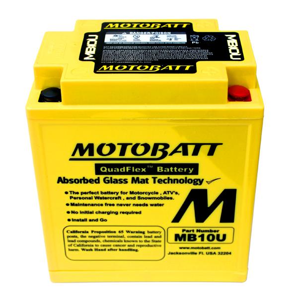 Bateria GS500 MOTOBATT  - T & T Soluções