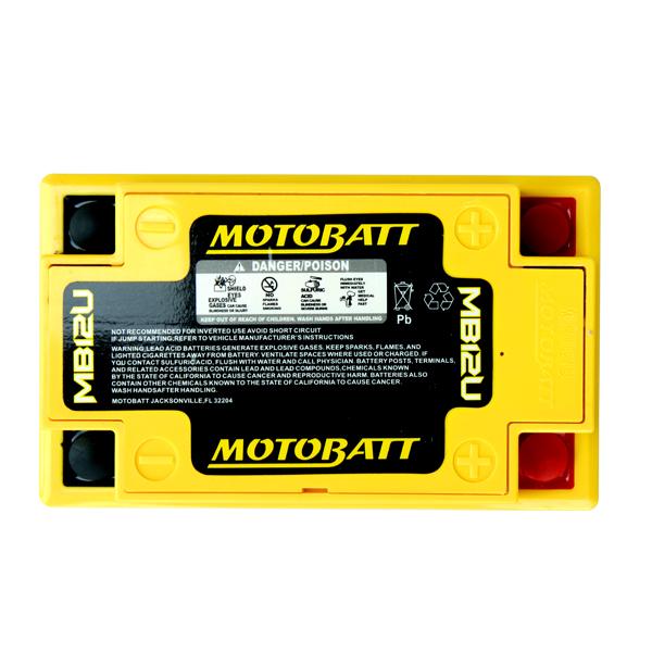 Bateria CB400 CB450 CBR450 MOTOBATT  - T & T Soluções
