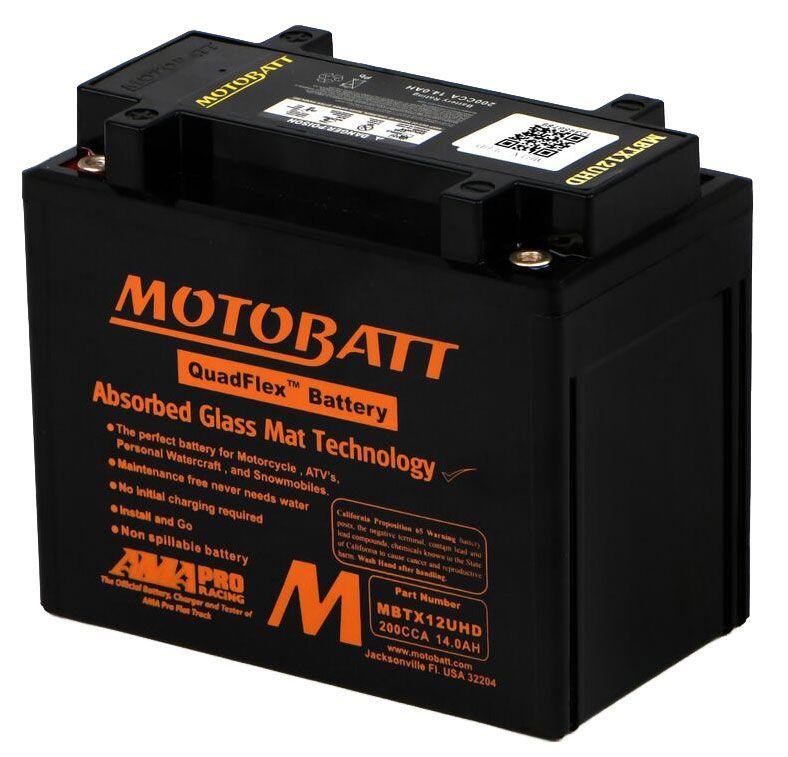 Bateria MOTOBATT MBTX12U-HD  - T & T Soluções