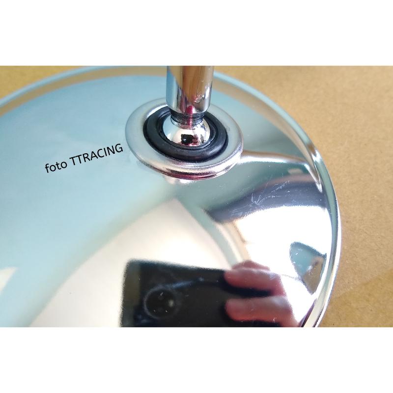 Espelho Retrovisor Compatível YAMAHA RS125 RS 125 Metal Cromado  - T & T Soluções