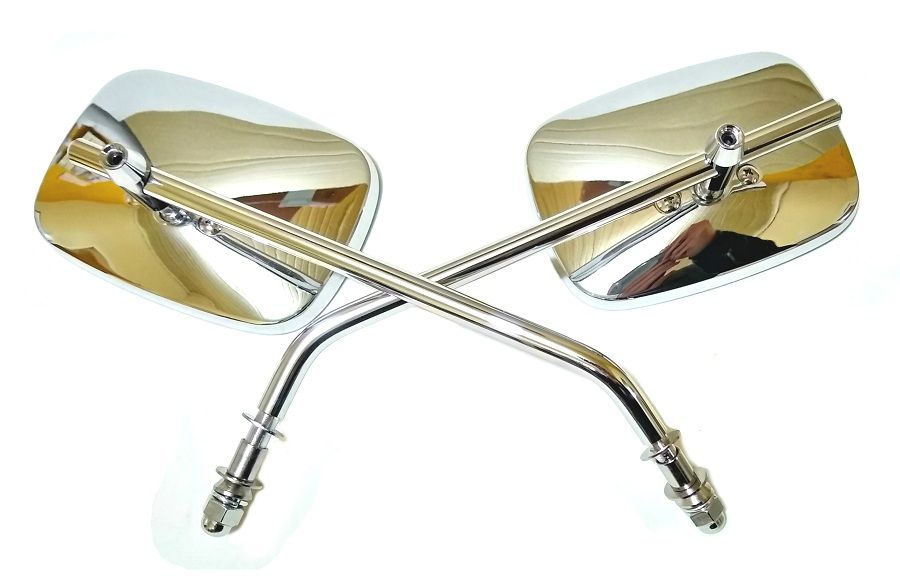 Espelho Retrovisor Harley Davidson Cromado  - T & T Soluções