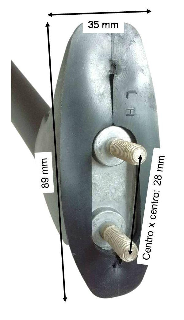 Espelho Retrovisor Yamaha R6 YZFR6 2001 2002  - T & T Soluções