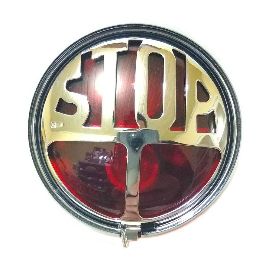 Lanterna Sinaleira Stop Café Racer Old School Bobber Harley Davidson Custom  - T & T Soluções