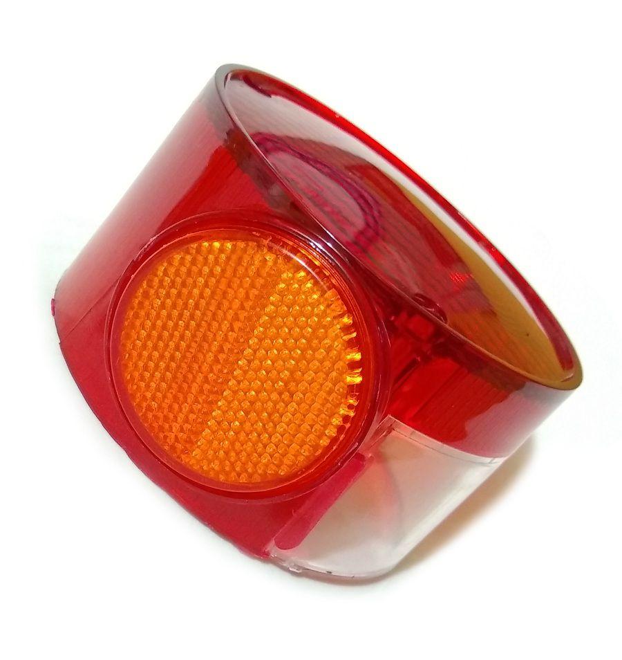 Lente Sinaleira Lanterna Rd200 Rd250 Rd350 Tx500 Tx650  - T & T Soluções