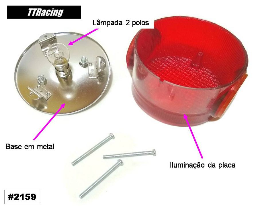Sinaleira Lanterna Rd200 Rd250 Rd350 Tx500 Tx650  - T & T Soluções