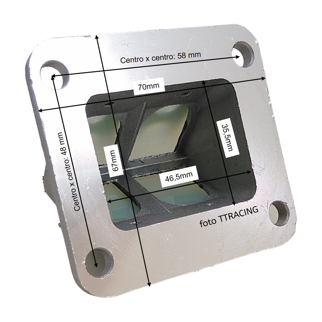 Torque ou Pirâmide com palhetas em fibra para adaptar RD135 RDZ DT180 Preparação  - T & T Soluções
