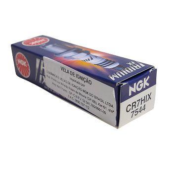 Vela Iridium Ngk Yamaha Dafra Sundown Shineray Kasinski  - T & T Soluções