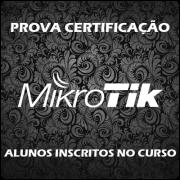 Prova Mikrotik - Alunos Inscritos no Curso