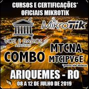 Ariquemes - RO - COMBO Cursos e Certificações Mikrotik MTCNA e MTCIPv6E