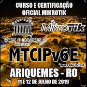 Ariquemes - RO - Curso e Certificação Oficial Mikrotik MTCIPV6E