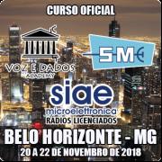 Belo Horizonte - BH - Curso Rádios Licenciados SIAE