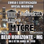 Belo Horizonte - BH - Curso e Certificação Oficial Mikrotik MTCRE