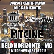 Belo Horizonte - MG - Curso e Certificação Oficial Mikrotik - MTCINE