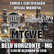 Belo Horizonte - MG - Curso e Certificação Oficial Mikrotik - MTCWE