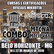 Belo Horizonte - MG - Cursos e Certificações Oficiais Mikrotik - COMBO MTCNA e MTCIPV6E