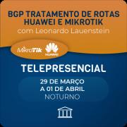 BGP Tratamento de Rotas Huawei e Mikrotik