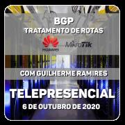 BGP Tratamento de Rotas Huawei e Mikrotik - com Guilherme Ramires