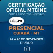 Certificação Oficial Mikrotik - MTCINE com Guilherme Ramires  -Presencial